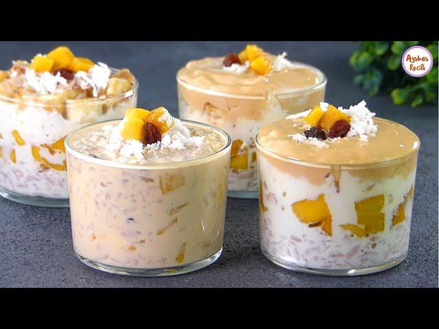 সেহরি ও ইফতারের জন্য চিড়া দিয়ে ভীষণ মজার ডেজার্ট রেসিপি | Easy Dessert recipe for Iftar | Doi Chira