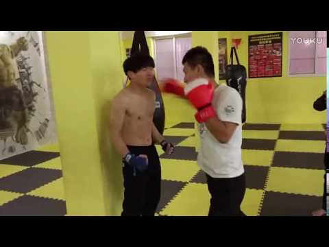 Human punching bag stomach demolition - 3 2