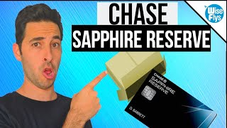Chase Sapphire Reserve Unboxing And Review