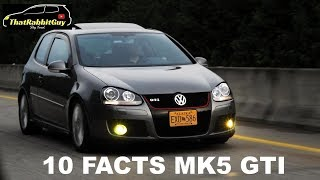 10 FACTS About The MK5 GTI