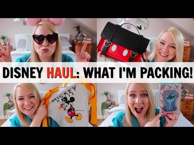 DISNEY HAUL: What I'm Packing For Disneyland Paris!