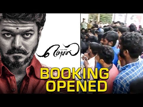 Mersal Bookings Open! | Thalapathy Fans Created a Traffic Jam | TK 503