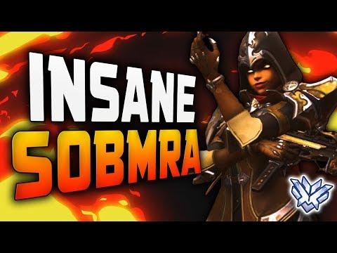 Sombra Dominating Season 12?! Kafeee - New Best Sombra? [ OVERWATCH SEASON 12 TOP 500 ]