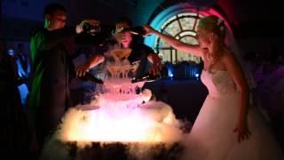 горка шампанского на свадьбе 2 августа 2015 ресторан Палкин
