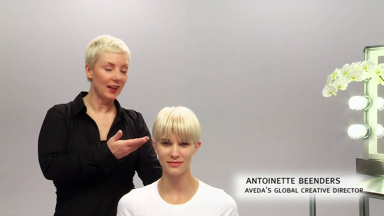 Salon Hairstyles For Short Hair Aveda How To The Tousled Look For Short Hairstyles
