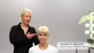 Aveda How-To | The Tousled Look for Short Hairstyles
