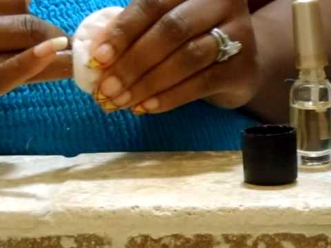 How to Safely use 100% Acetone & My Basic Manicure