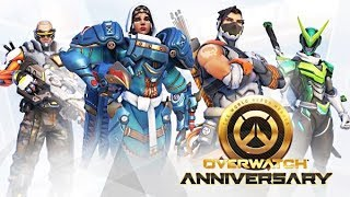 OVERWATCH ANNIVERSARY: 1 HOUR SPECIAL (ARENA MAPS + LOOT BOX OPENING)