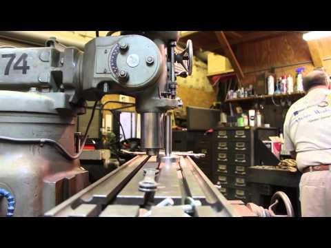 Machine Shop Basics:  Tramming A Vertical Milling Machine