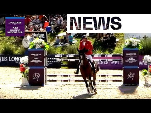 Canada Climbs On Top Of The Standings | News | Ocala (USA) | Longines FEI Jumping Nations Cup™ 2018