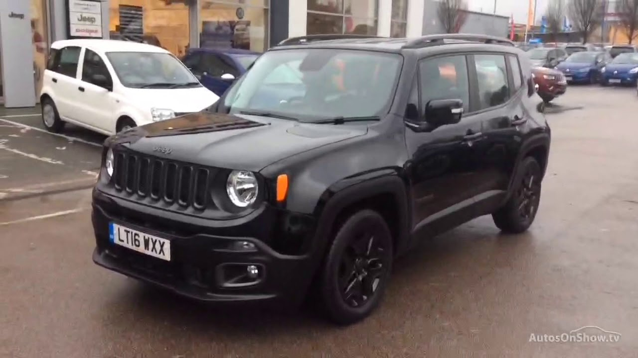 Jeep Renegade M Jet Night Eagle Black 2016 Youtube