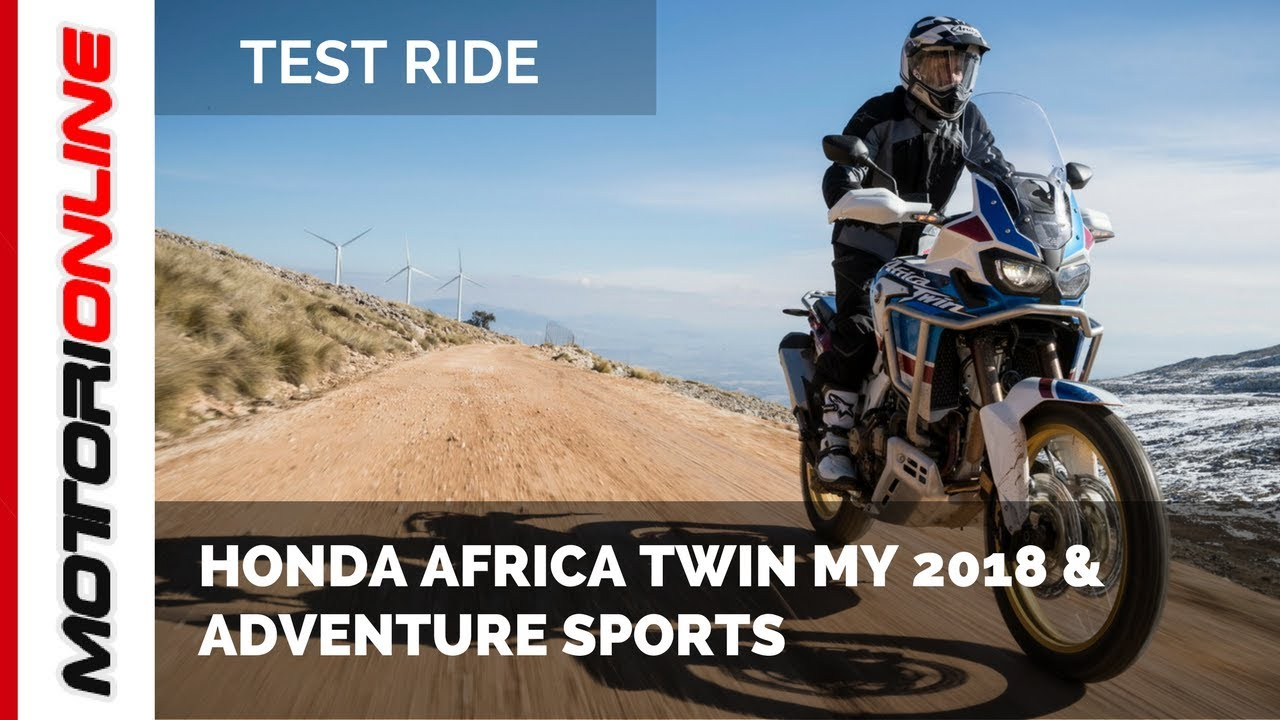 honda africa twin 2018 adventure sports test ride. Black Bedroom Furniture Sets. Home Design Ideas