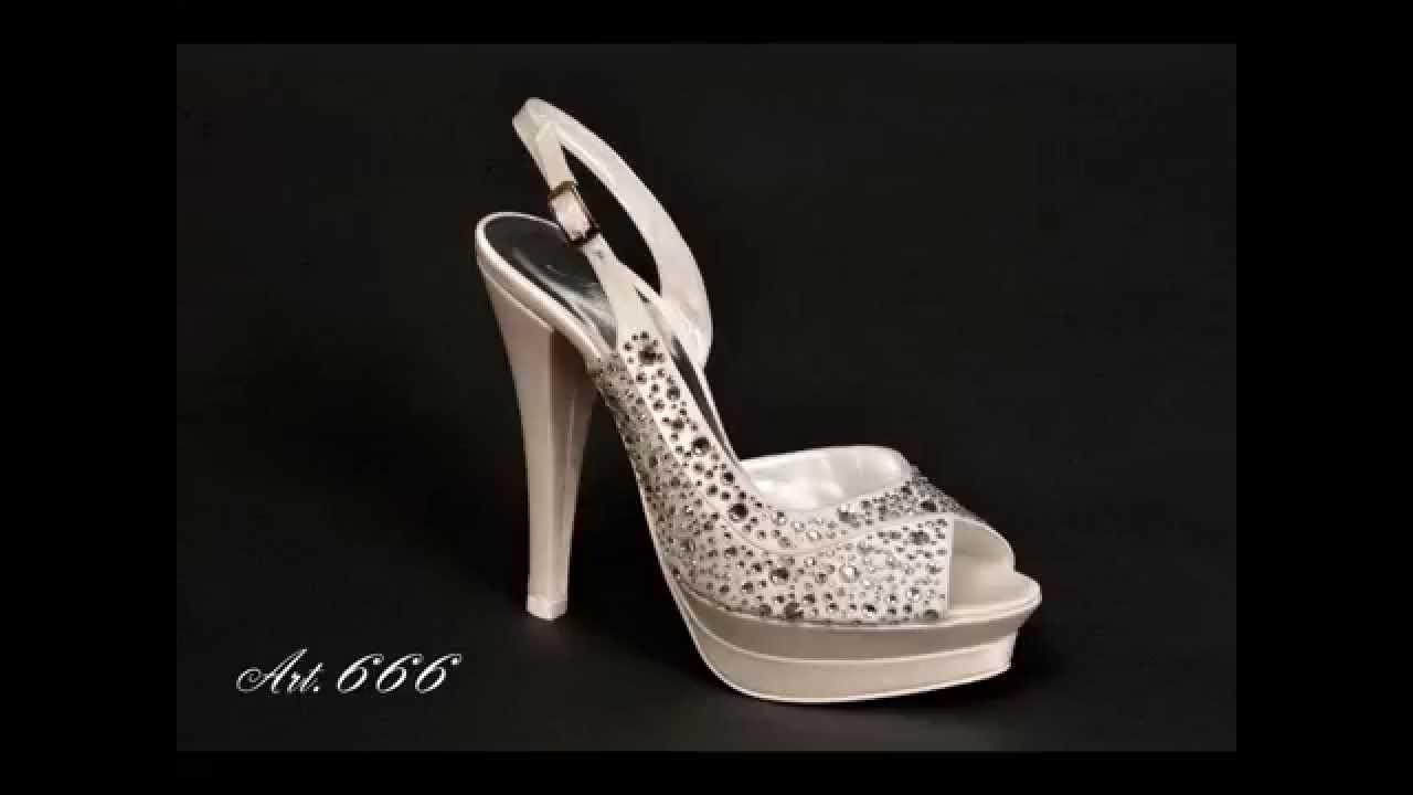 Nugnes Scarpe Sposa Collezione Youtube 2015 47X7Y60q