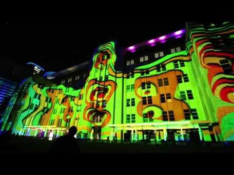 Organic Vibrations - Vivid Sydney 2017 (MCA building)
