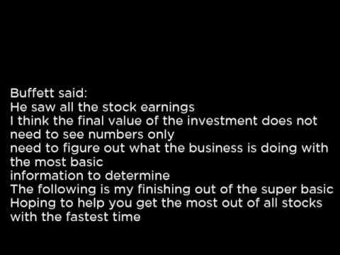 GV - The Goldfield Corporation GV buy or sell Buffett read basic