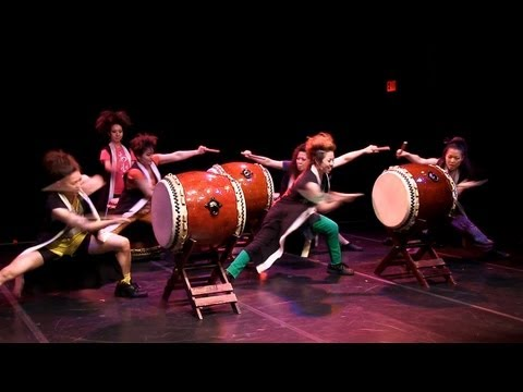 Cobu taiko & tap dance - Lower East Side Festival 2013 - May 25 - Theater for the New City