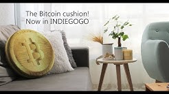 Bitcoin Cushion / Bitcoin Pillow