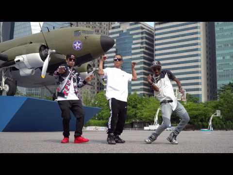 3 Dancers in Korea I MARQUESE SCOTT I POPPIN JOHN I HYUNJOON