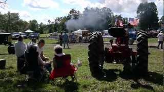 Orange County Farmer's Museum Tractor Pull 9/9/12