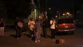 jazz @ street corner 2 - frenchmen street new orleans