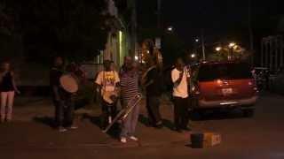 jazz @ street corner 2 - frenchmen street new orleans