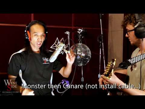 Canare - Mogami - Gepco - Belden - Kiwi - Apogee - Monster Microphone Cable Shootout!