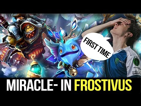 Miracle- First Time playing Frostivus Special Event - WTF UTHER PARTY from DotA?