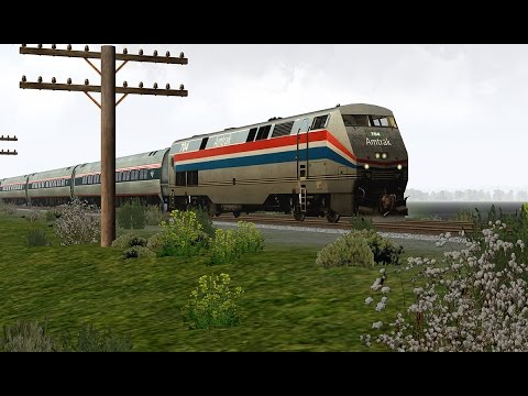 Run8 Version 2 | Amtrak Hudson Line Cabride: Hudson to Albany Rensselaer