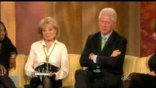 Bill Clinton on The View 9-22-2008 part 3