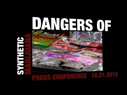 Dangers of Synthetic Marijuana Press Conference