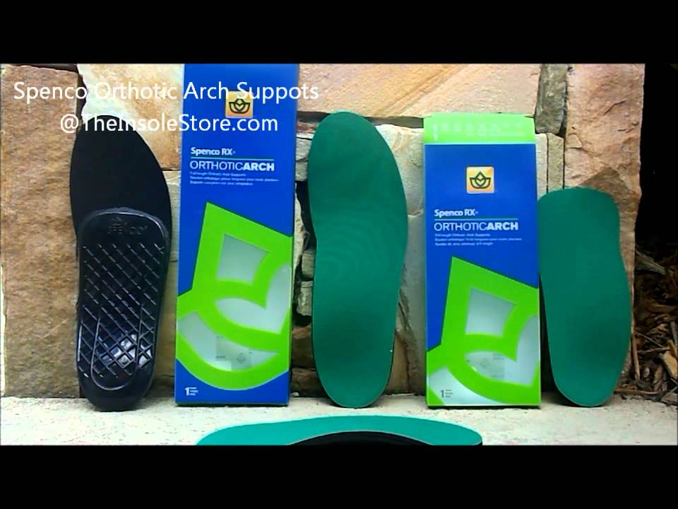 Spenco Orthotic Arch Supports Review