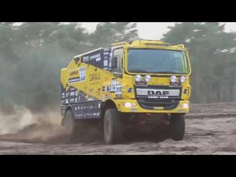Testen met Fried van de Laar Racing