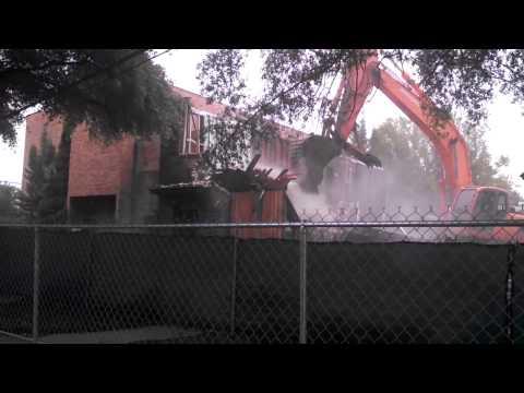 Workshop Theater demolition of structure