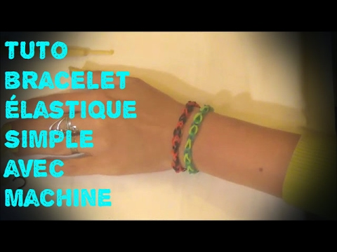 bracelet elastique avec machine videolike. Black Bedroom Furniture Sets. Home Design Ideas