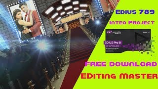 Edius cinematic wedding highlight project slow motion mein