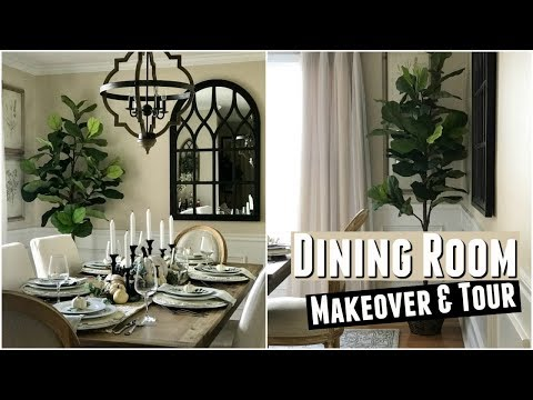 Dining Room Makeover Reveal & Tour | Before & After | Modern Farmhouse