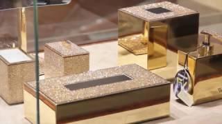 Swarovski bathroom accessories sets - Windisch Aksesuar Design