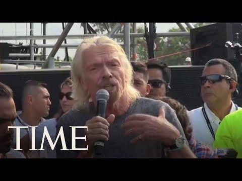 Richard Branson Speaks