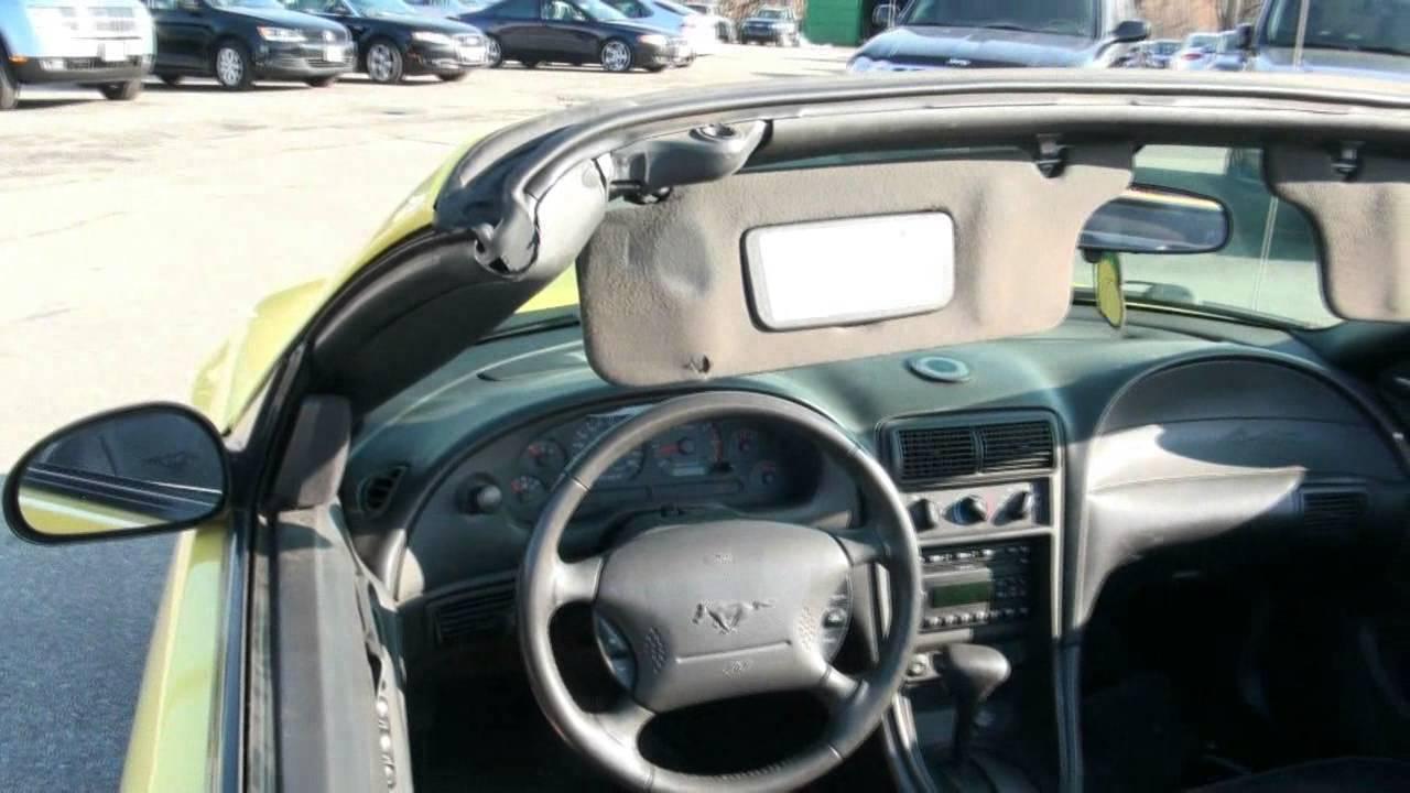mustang 2003 v6 convertible
