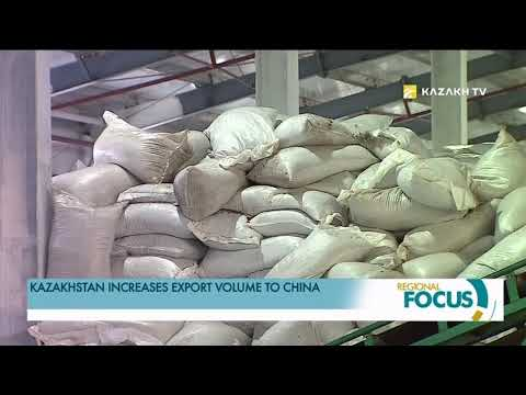Kazakhstan increases export volume to China