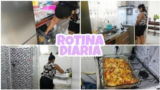ROTINA DIÁRIA, LAVEI MEU BANHEIRO PREPARANDO O JANTAR E MUITO MAIS❤