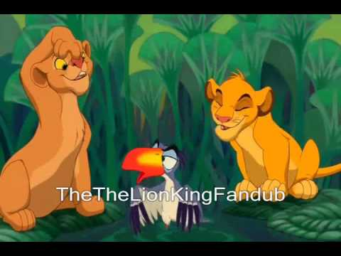 I just cant wait to be king simba new voice.
