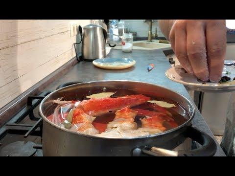 Готовлю покупного краба! Как приготовить замороженного камчатского краба. Что можно делать с крабом