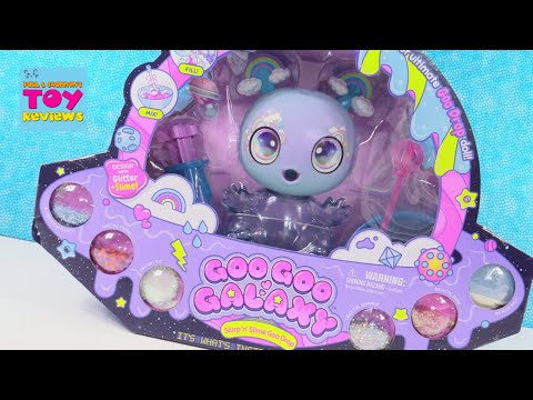 Goo Goo Galaxy Slurp n Slime Goo Drop Unboxing Toy Review | PSToyReviews