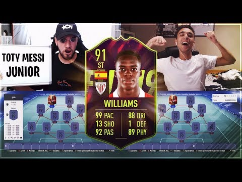 FIFA 19 WILLIAMS SQUAD BUILDER BATTLE !! 😱🔥