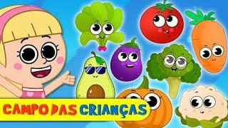 Aprenda Com A Música dos Legumes! | Vídeos para Crianças @Campo das Crianças - KidsCamp Brasil