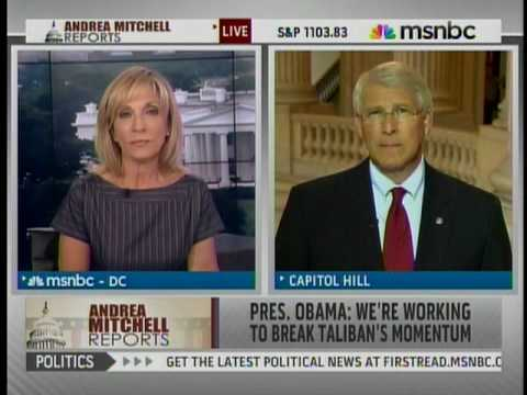 Andrea Mitchell interviews Senator Roger Wicker (R-MS) on MSNBC