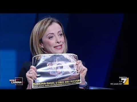 Il racconto shock di Giorgia Meloni: La Francia per il Burkina Faso stampa moneta coloniale...