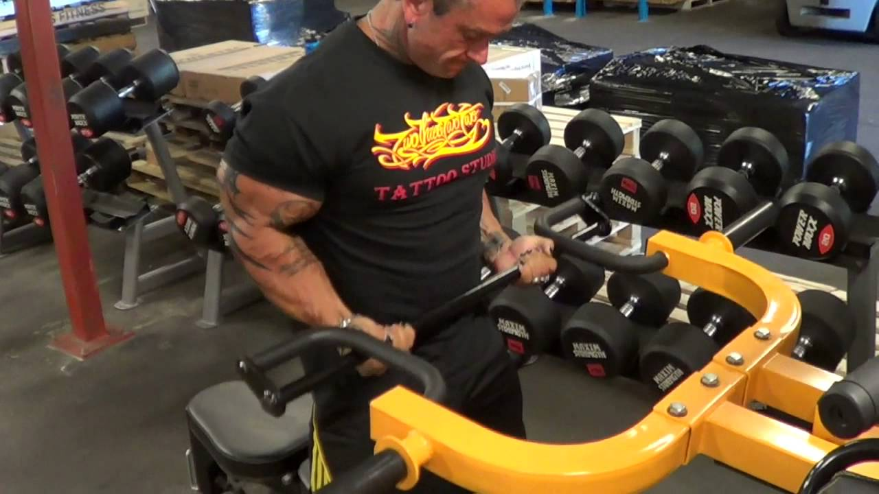 Drag Curls On The Powertec Multi System Youtube
