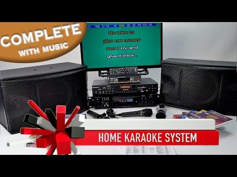 Karaoke System Complete | Professional Karaoke Amp | Mics & 4,500 Songs ✅ Home Karaoke 800-557-SING